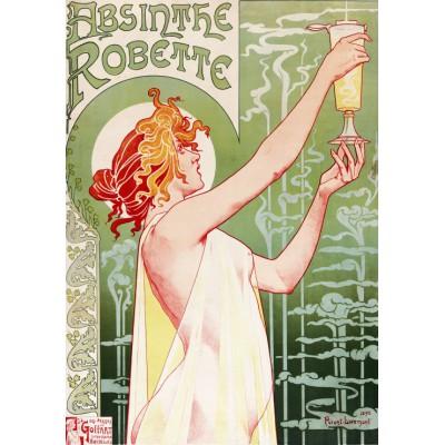 Puzzle Grafika-00496 Alfons Mucha: Absinthe Robette, 1896