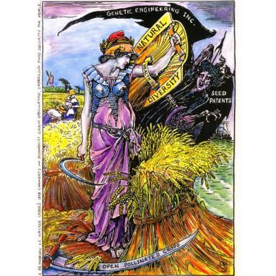 Puzzle Grafika-00508 Walter Crane: Affiche Genetic Engineering Inc., 1898
