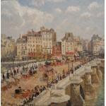 Puzzle  Grafika-00514 Camille Pissarro: Le Pont-Neuf, 1902