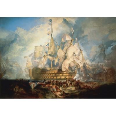 Puzzle Grafika-00523 J. M. W. Turner: La bataille de Trafalgar, 1822