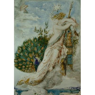 Puzzle Grafika-00539 Gustave Moreau: Le Paon se plaignant à Junon, 1881
