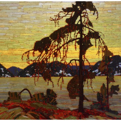 Puzzle Grafika-00545 Tom Thomson: The Jack Pine, 1916