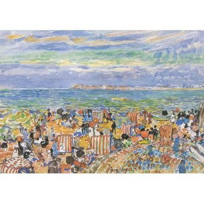 Puzzle Grafika-00553 Maurice Prendergast: St. Malo N°. 2, 1907 - 1910
