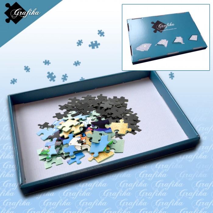 Puzzle Sorter Blau
