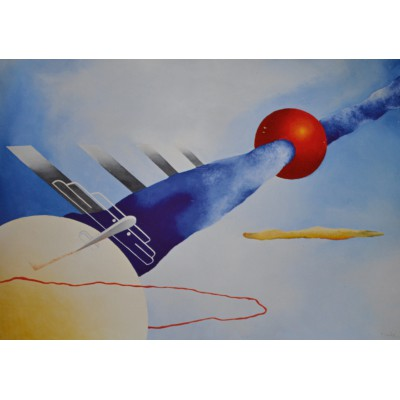 Puzzle Grafika-00577 Luigi Colombo: Mistero Aereo, 1931