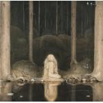 Puzzle  Grafika-00585 John Bauer: Princess Tuvstarr, 1913