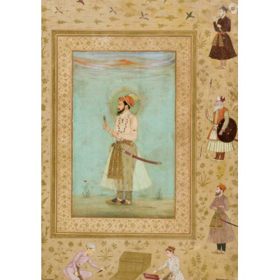 Puzzle Grafika-00606 Bichitr: Emperor Shah Jahan, 1650