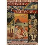 Puzzle  Grafika-00607 Affiche pour les Chemins de Fer de l'Ouest, 1900