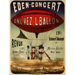 Puzzle  Grafika-00612 Affiche pour Eden-concert, 1884