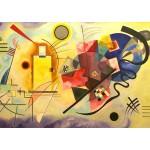 Puzzle  Grafika-00631 Vassily Kandinsky: Gelb-Rot-Blau, 1925