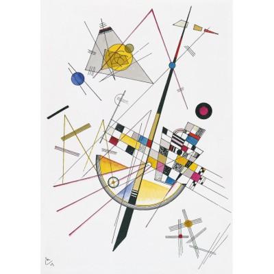 Puzzle Grafika-00632 Wassily Kandinsky: Delicate Tension, 1923