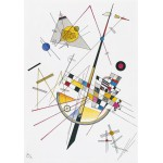 Puzzle  Grafika-00632 Wassily Kandinsky: Delicate Tension, 1923