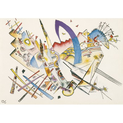 Puzzle Grafika-00635 Wassily Kandinsky: Untitled, 1922