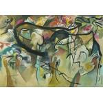 Puzzle  Grafika-00640 Wassily Kandinsky: Composition V - 1911