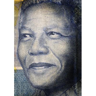 Puzzle Grafika-00656 Nelson Mandela