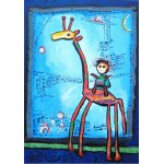 Puzzle  Grafika-00668 Anne Poiré & Patrick Guallino - Toujours Elle