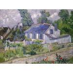 Puzzle  Grafika-00681 Van Gogh Vincent: Maison à Auvers, 1890