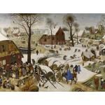 Puzzle  Grafika-00695 Brueghel Pieter: Volkszählung zu Bethlehem