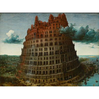 Puzzle Grafika-00697 Brueghel: Der Turm zu Babel