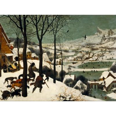 Puzzle Grafika-00698 Brueghel: Die Heimkehr der Jäger