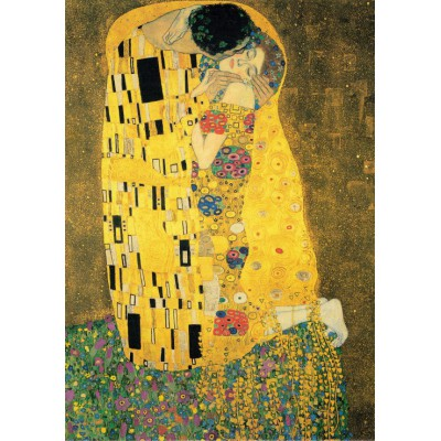 Puzzle Grafika-00721 Klimt Gustav: Der Kuss, 1907-1908