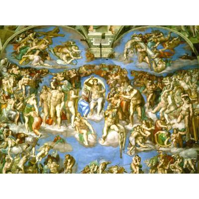 Puzzle Grafika-00726 Michelangelo: Das jüngste Gericht