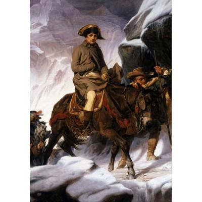 Puzzle Grafika-00730 Paul Delaroche: Napoleon Bonaparte überschreitet die Alpen, 1850