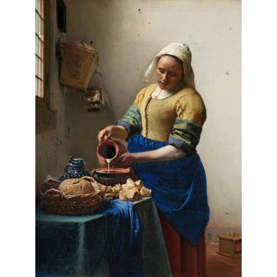 Puzzle Grafika-00739 Johannes Vermeer: Die Küchenmagd, 1658-1661