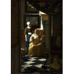 Puzzle  Grafika-00740 Johannes Vermeer: Der Liebesbrief, 1669-1670