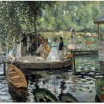 Puzzle  Grafika-00745 Auguste Renoir: La Grenouillère, 1869