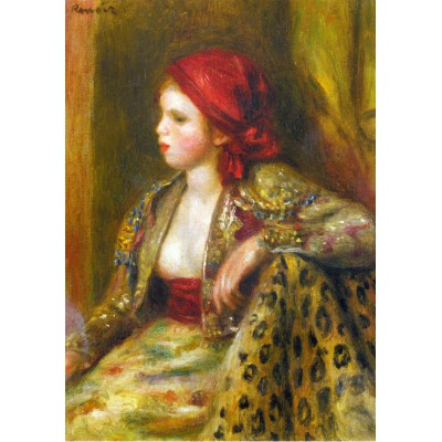 Puzzle Grafika-00749 Renoir Auguste: Odalisque, 1895
