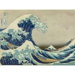 Puzzle  Grafika-00757 Katsushika Hokusai: Die große Welle vor Kanagawa, 1826-33