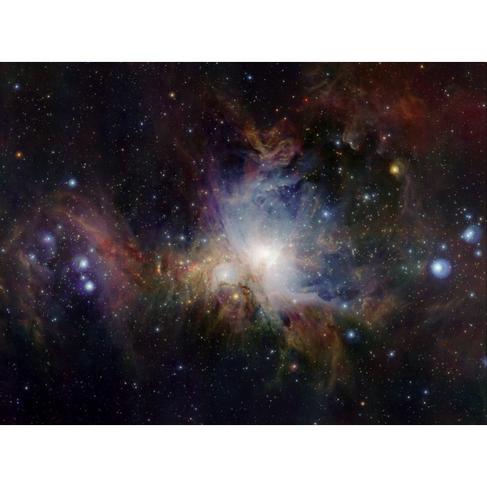 Infrarotansicht des Orionnebels