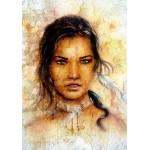 Puzzle  Grafika-00788 Die Indianerin