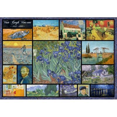 Puzzle Grafika-00836 Collage - Vincent Van Gogh