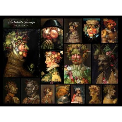 Puzzle Grafika-00846 Arcimboldo Giuseppe - Collage