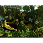Puzzle  Grafika-00851 Henri Rousseau: The Dream, 1910