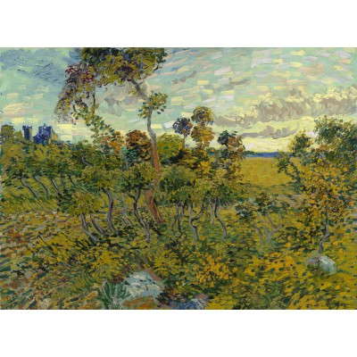 Puzzle Grafika-00870 Van Gogh: Sunset at Montmajour, 1888