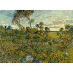 Puzzle  Grafika-00870 Van Gogh: Sunset at Montmajour, 1888
