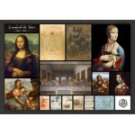 Puzzle  Grafika-00871 Leonardo da Vinci - Collage