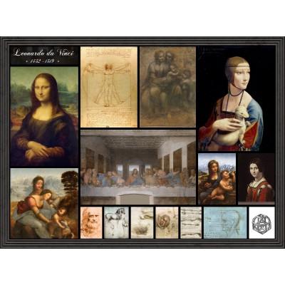 Puzzle Grafika-00872 Leonardo da Vinci - Collage