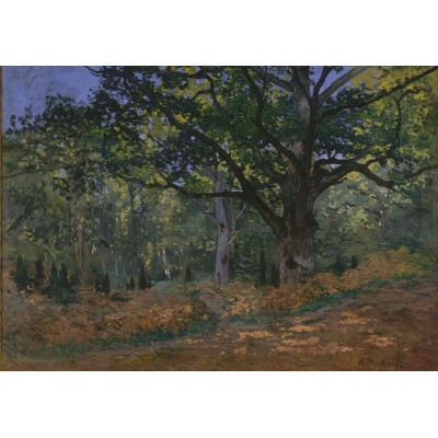 Puzzle Grafika-00886 Claude Monet: Fontainebleau, 1865
