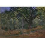Puzzle  Grafika-00886 Claude Monet: Fontainebleau, 1865