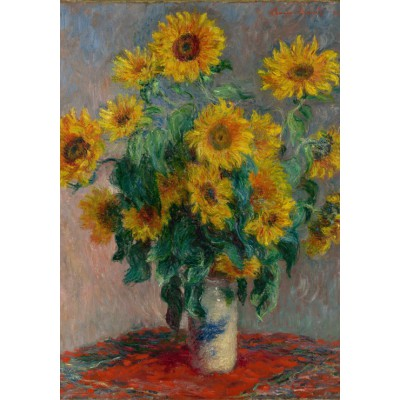 Puzzle Grafika-00889 Claude Monet: Bouquet of Sunflowers, 1881