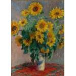 Puzzle  Grafika-00889 Claude Monet: Bouquet of Sunflowers, 1881