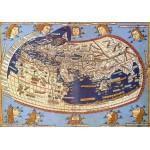 Puzzle  Grafika-00918 Claudius Ptolemy: Weltkarte, 1482