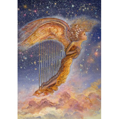 Puzzle Grafika-00931 Harp Angel