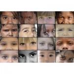 Puzzle  Grafika-00932 SOS MEDITERRANEE - Kinderaugen aus aller Welt