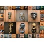 Puzzle  Grafika-00938 Collage - Türen