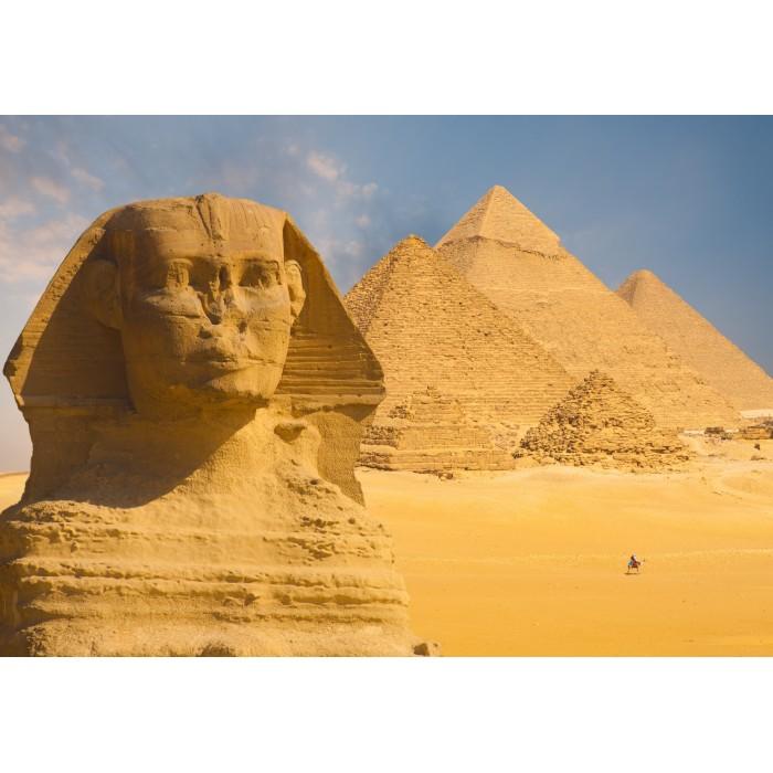 Sphinx und Pyramiden von Gizeh